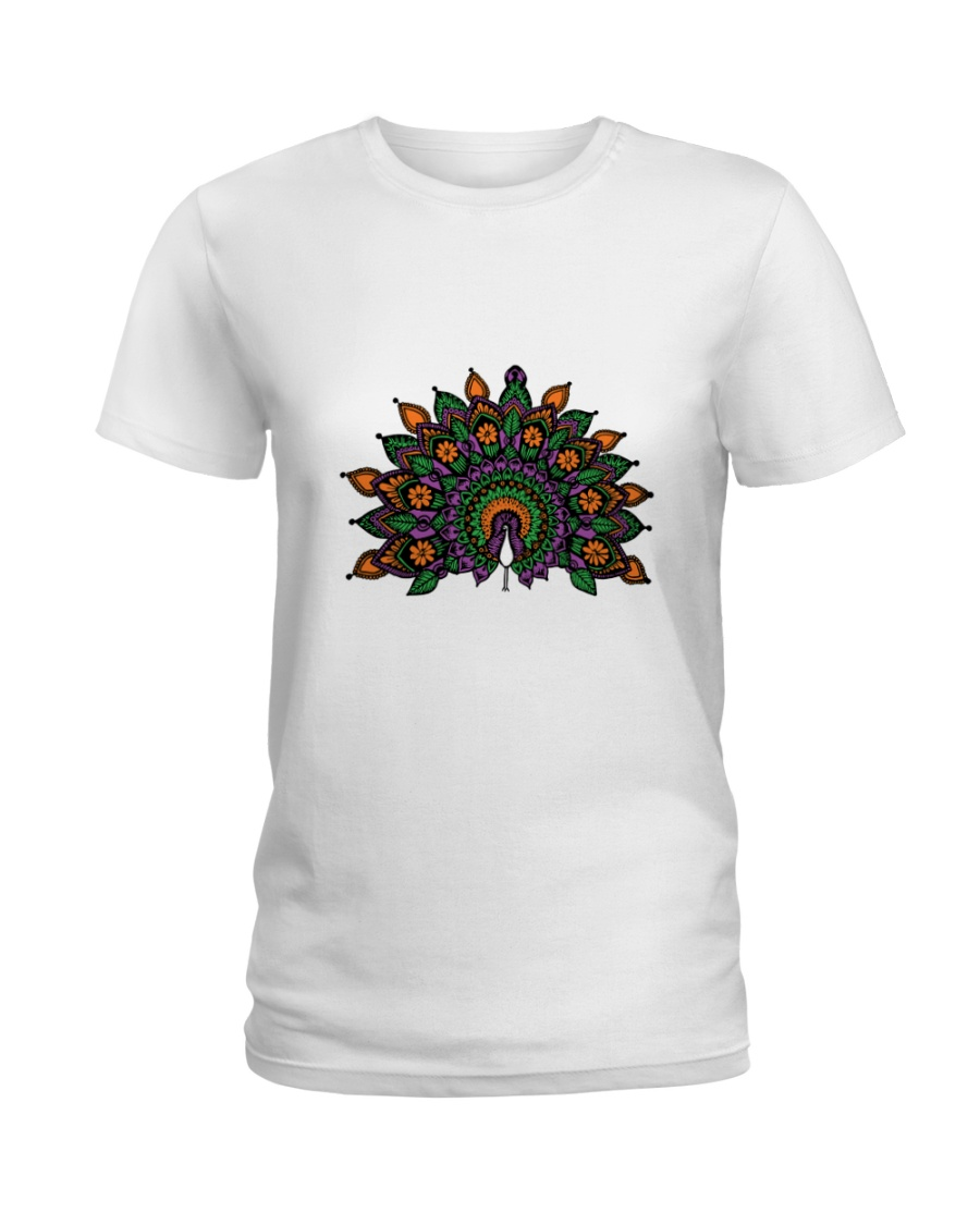 Peacock Ladies T-Shirt