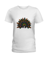 Peacock Ladies T-Shirt front