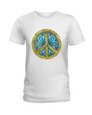 Peace Ladies T-Shirt front