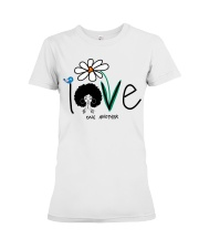 Love one another Premium Fit Ladies Tee tile