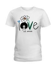 Love one another Ladies T-Shirt front