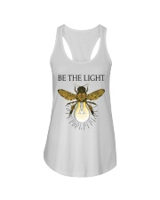 Be the light Ladies Flowy Tank thumbnail