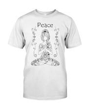 Yoga peace 2 Classic T-Shirt thumbnail