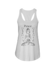 Yoga peace 2 Ladies Flowy Tank thumbnail