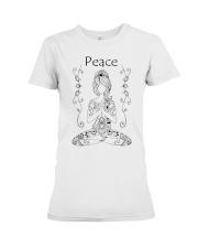 Yoga peace 2 Premium Fit Ladies Tee thumbnail