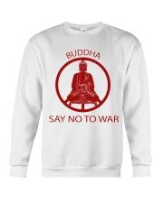 Buddha say no to war Crewneck Sweatshirt thumbnail