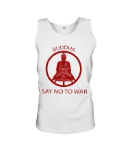 Buddha say no to war Unisex Tank thumbnail
