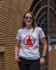 Buddha say no to war Ladies T-Shirt lifestyle-women-crewneck-front-2