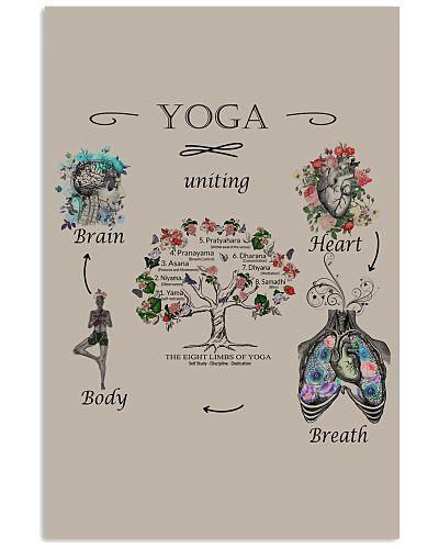 Mandala yoga poster