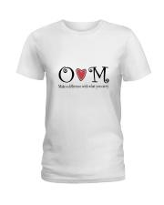 Om Ladies T-Shirt front
