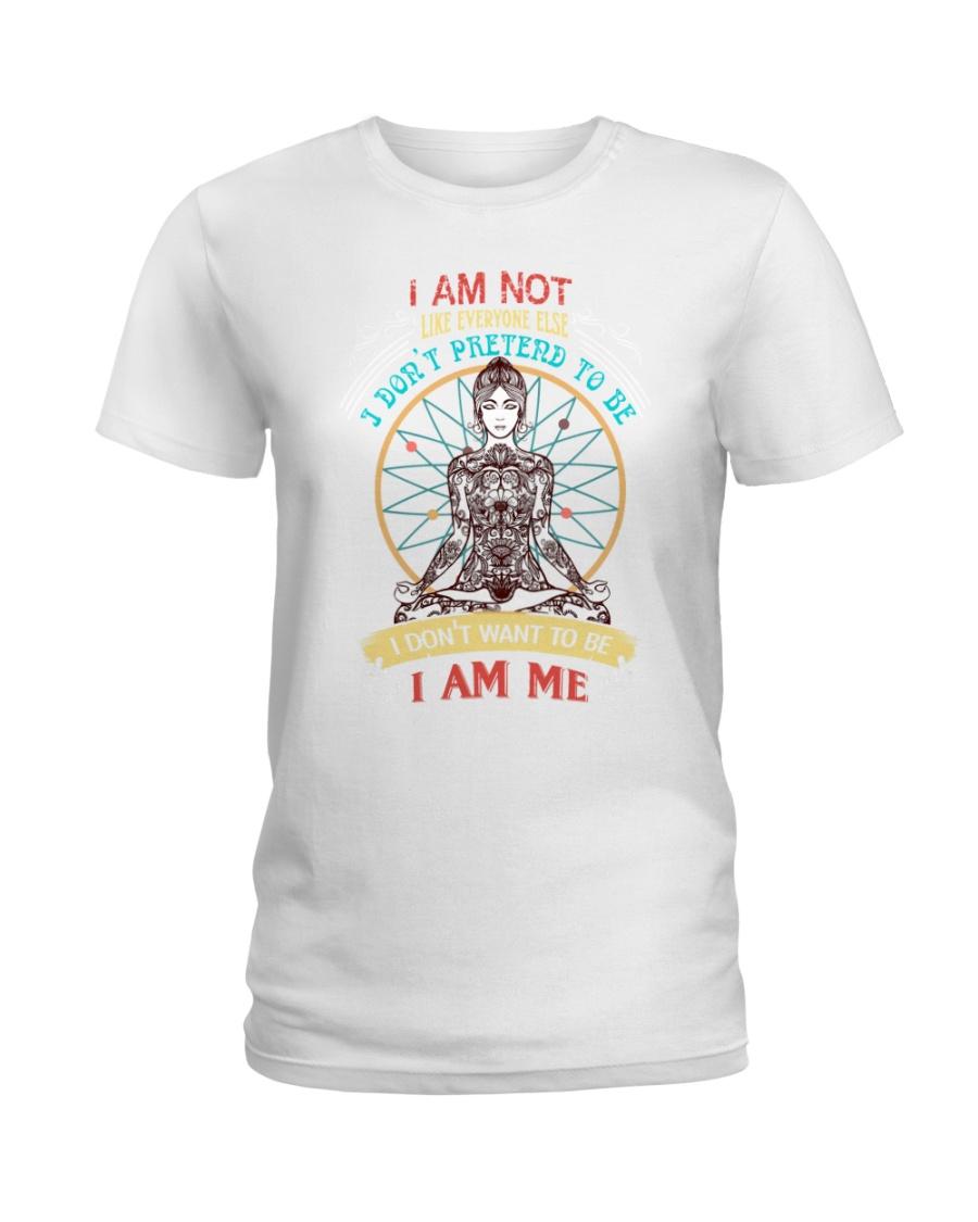 I am not like everyone else Ladies T-Shirt