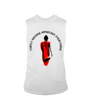 Expect nothing appreciate everything Sleeveless Tee thumbnail