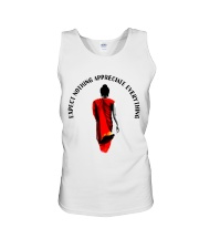 Expect nothing appreciate everything Unisex Tank thumbnail