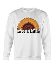 Live a little Crewneck Sweatshirt thumbnail