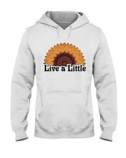 Live a little Hooded Sweatshirt thumbnail