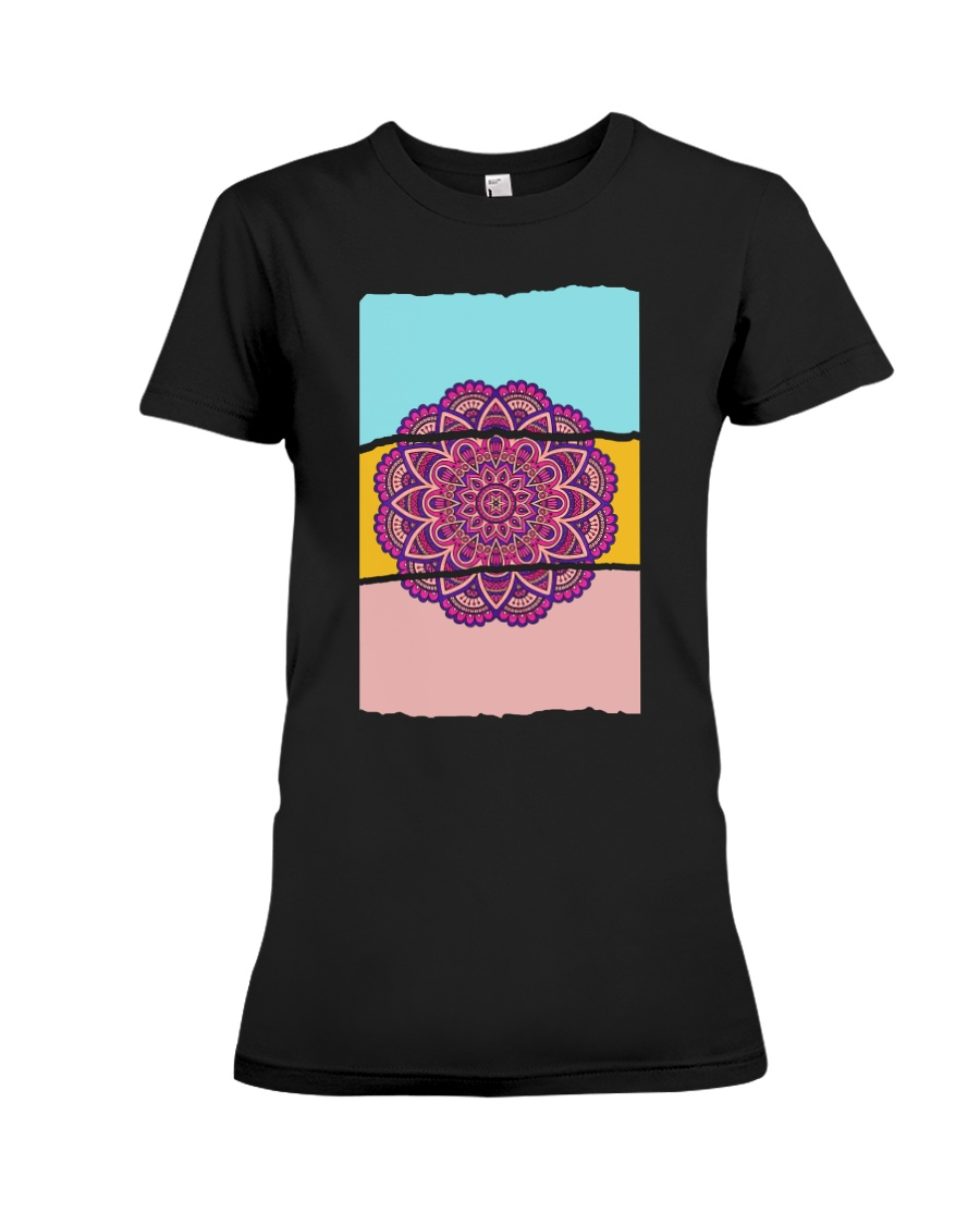 Mandala Premium Fit Ladies Tee
