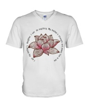 I can do anything V-Neck T-Shirt tile