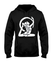 Yoga 02 Hooded Sweatshirt thumbnail