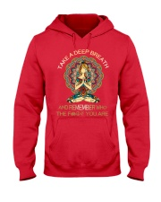 Take a deep breathe Hooded Sweatshirt thumbnail
