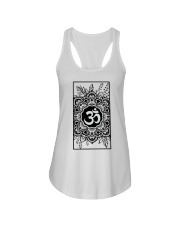 Om mandala Ladies Flowy Tank tile