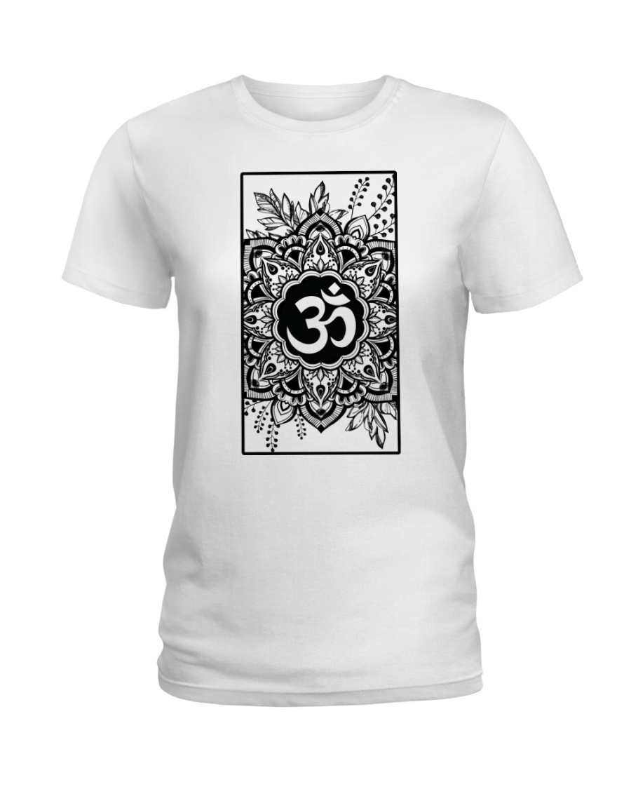 Om mandala Ladies T-Shirt
