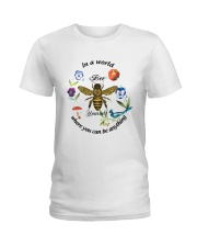 Where you can be anything Ladies T-Shirt front