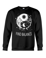 Find balance Crewneck Sweatshirt tile