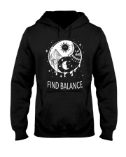 Find balance Hooded Sweatshirt thumbnail
