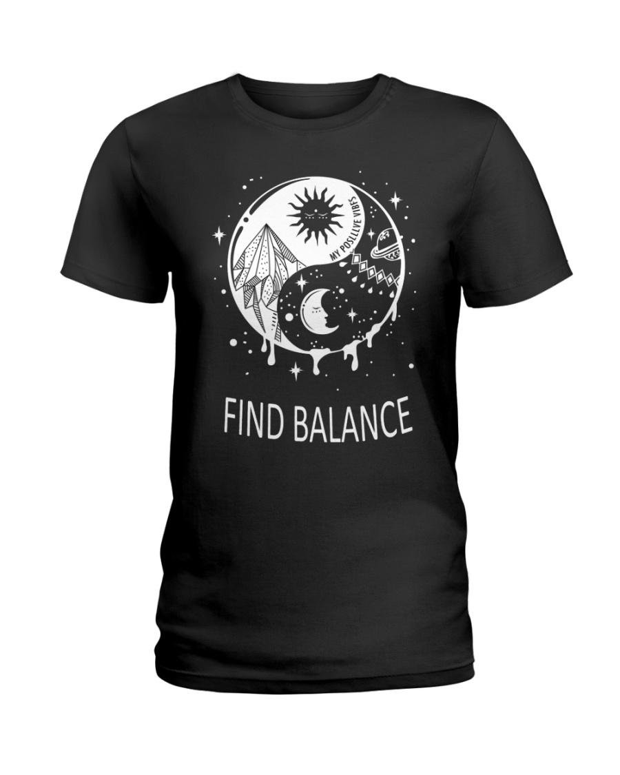 Find balance Ladies T-Shirt