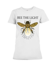 Bee the light Premium Fit Ladies Tee tile
