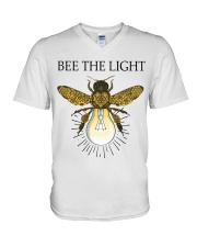 Bee the light V-Neck T-Shirt tile