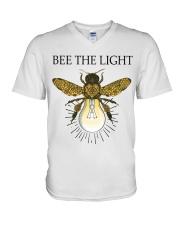 Bee the light V-Neck T-Shirt thumbnail
