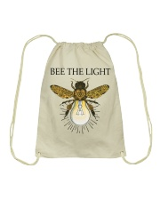 Bee the light Drawstring Bag tile