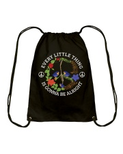 Every little thing is gonna be alright  Drawstring Bag thumbnail