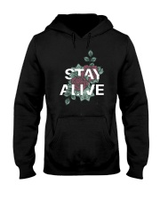 Stay alive Hooded Sweatshirt thumbnail