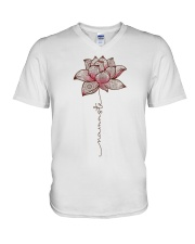 Namaste V-Neck T-Shirt tile