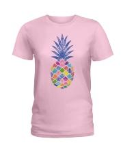 Mandala pineapple Ladies T-Shirt front