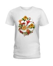 Om Ladies T-Shirt tile