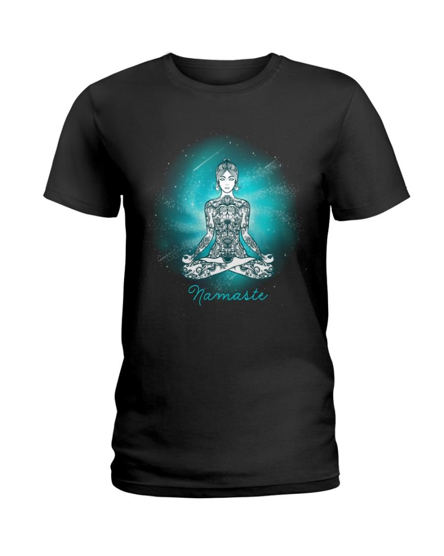 Namaste universe Ladies T-Shirt
