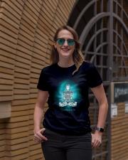 Namaste universe Ladies T-Shirt lifestyle-women-crewneck-front-2