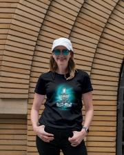 Namaste universe Ladies T-Shirt lifestyle-women-crewneck-front-4