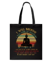I will breathe Tote Bag thumbnail