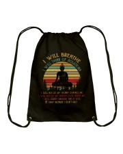 I will breathe Drawstring Bag tile