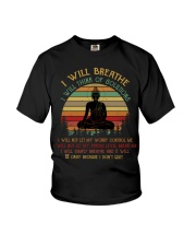 I will breathe Youth T-Shirt thumbnail