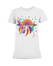 Mandala arrow Premium Fit Ladies Tee tile
