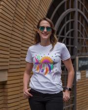 Mandala arrow Ladies T-Shirt lifestyle-women-crewneck-front-2