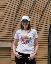 Mandala arrow Ladies T-Shirt lifestyle-women-crewneck-front-4