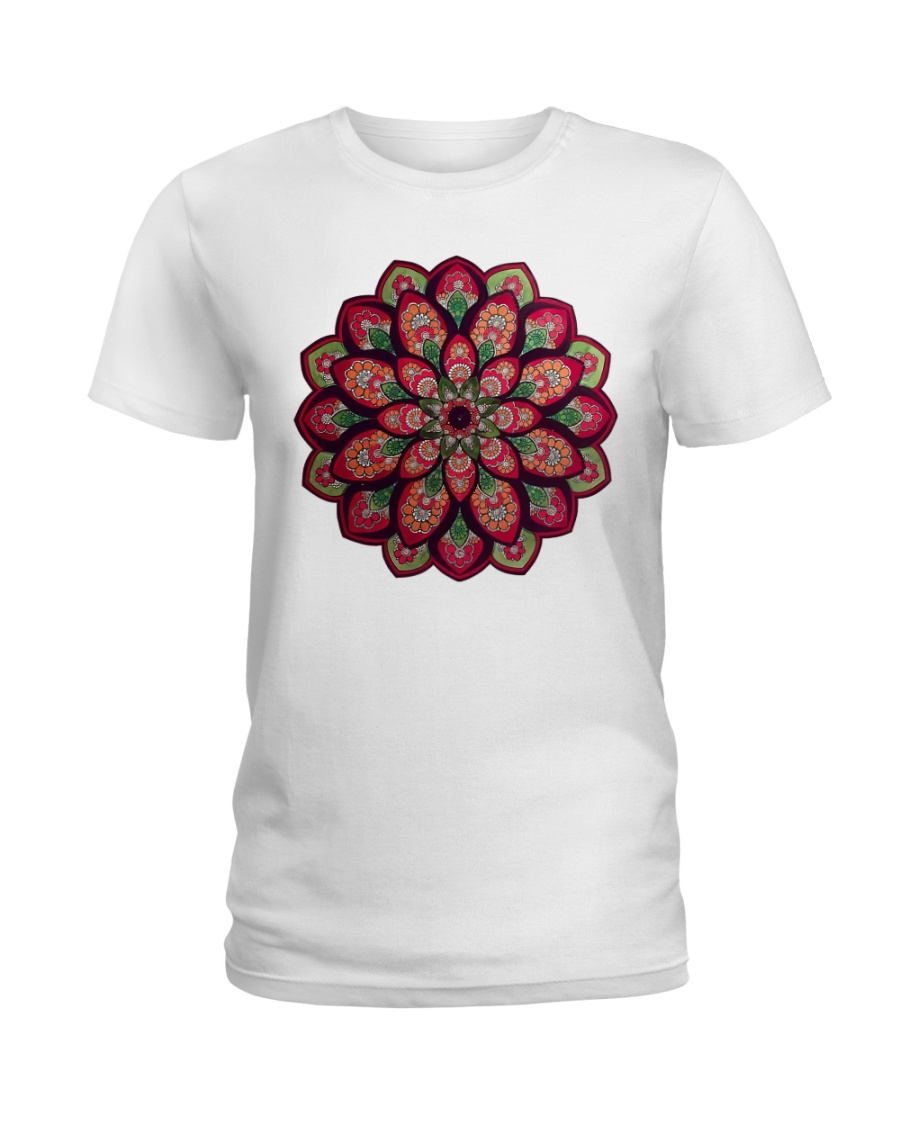 Yoga mandala 11 Ladies T-Shirt