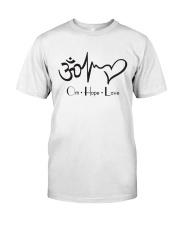 Om hope love Classic T-Shirt thumbnail