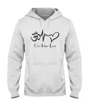 Om hope love Hooded Sweatshirt thumbnail
